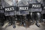 trump police riot