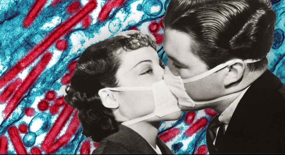 pandemic flu kiss mask antibiotic disease