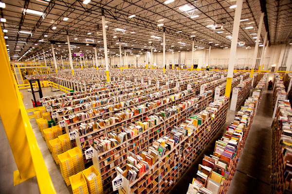 amazon warehouse automation covid